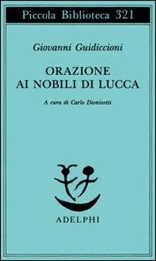Filippodegasperi.it Orazione ai nobili di Lucca Image