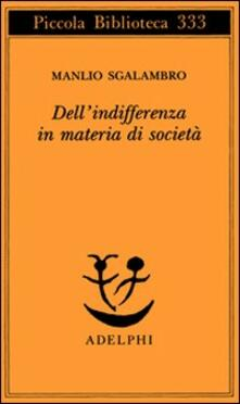 Criticalwinenotav.it Dell'indifferenza in materia di società Image