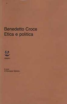 Etica e politica - Benedetto Croce - copertina
