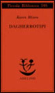 Libro Dagherrotipi Karen Blixen