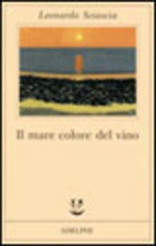 Il mare colore del vino - Leonardo Sciascia - copertina