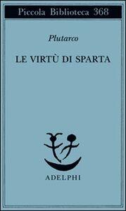 Libro Le virtù di Sparta Plutarco