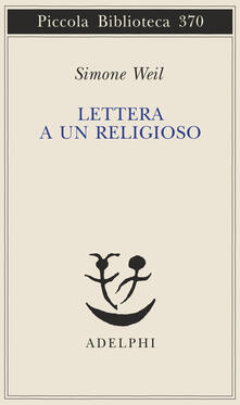Lettera a un religioso - Simone Weil - copertina