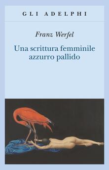 Squillogame.it Una scrittura femminile azzurro pallido Image