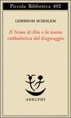 Il nome di Dio e la teoria cabbalistica del linguaggio