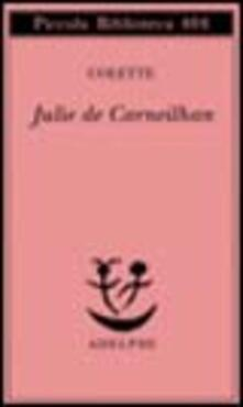 Julie de Carneilhan - Colette - copertina