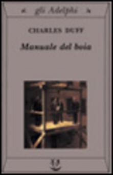 Premioquesti.it Manuale del boia Image