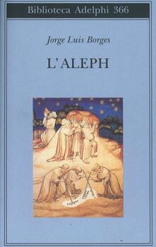 L' aleph - Jorge L. Borges - copertina