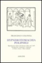 Hypnerotomachia Poliphili (rist. anast. 1499)