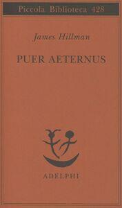 Libro Puer aeternus James Hillman