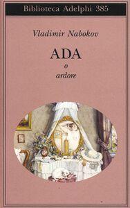 Libro Ada o ardore Vladimir Nabokov