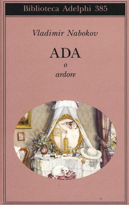 Ada o Ardore - Vladimir Nabokov - copertina