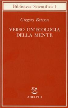 Verso un'ecologia della mente - Gregory Bateson - copertina