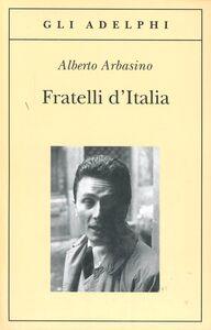 Libro Fratelli d'Italia Alberto Arbasino