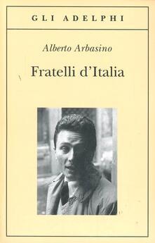 Fratelli d'Italia - Alberto Arbasino - copertina