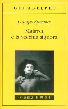Listadelpopolo.it Maigret e la vecchia signora Image