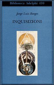 Libro Inquisizioni Jorge L. Borges