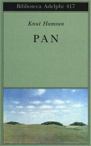 Pan - Knut Hamsun - copertina