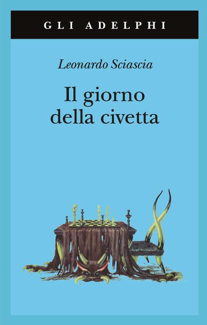 Il giorno della civetta - Leonardo Sciascia - copertina