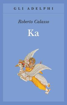 Ka - Roberto Calasso - copertina
