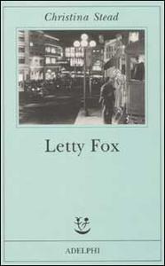 Libro Letty Fox Christina Stead