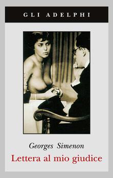 Lettera al mio giudice - Georges Simenon - copertina
