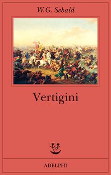 Vertigini - Winfried G. Sebald - copertina