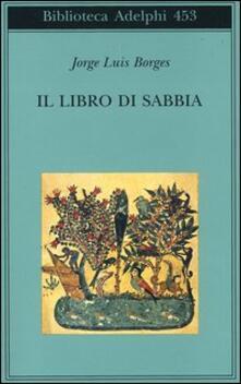 Il libro di sabbia - Jorge L. Borges - copertina