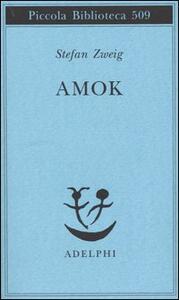 Amok - Stefan Zweig - copertina