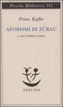 Vastese1902.it Aforismi di Zürau Image