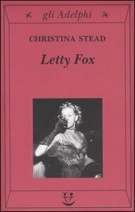 Letty Fox - Christina Stead - copertina