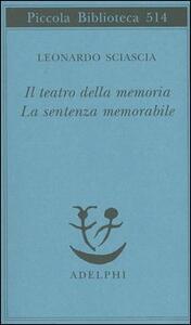 Il teatro della memoria-La sentenza memorabile