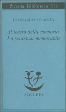 Il teatro della memoria-La sentenza memorabile.pdf