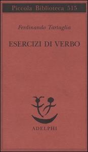 Libro Esercizi di verbo Ferdinando Tartaglia
