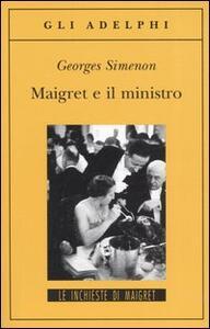 Maigret e il ministro - Georges Simenon - copertina