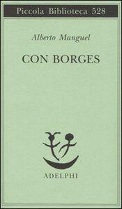 Libro Con Borges Alberto Manguel