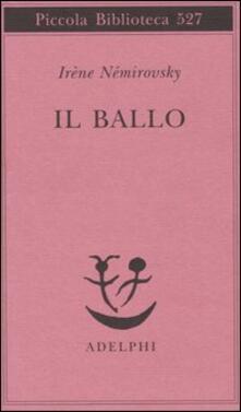 Il ballo - Irène Némirovsky - copertina