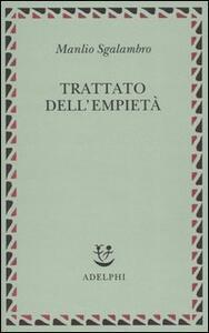 Trattato dell'empietà - Manlio Sgalambro - copertina
