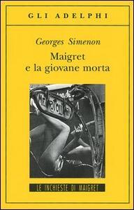 Maigret e la giovane morta - Georges Simenon - copertina