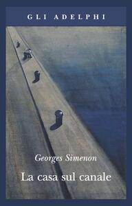 La casa sul canale - Georges Simenon - copertina