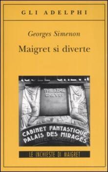 Voluntariadobaleares2014.es Maigret si diverte Image