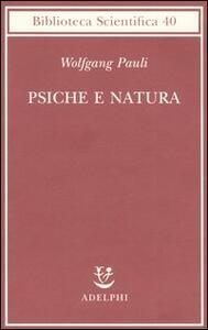 Psiche e natura - Wolfgang Pauli - copertina
