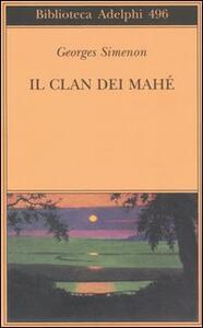 Il clan dei Mahé - Georges Simenon - copertina