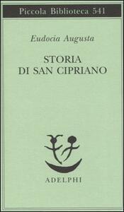 Storia di san Cipriano - Augusta Eudocia - copertina