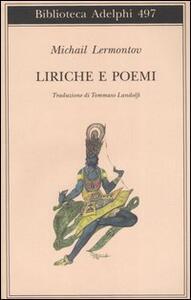 Liriche e poemi - Michail Jur'evi Lermontov - copertina