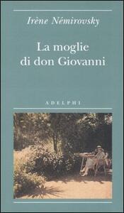 La moglie di don Giovanni - Irène Némirovsky - copertina