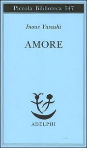 Amore - Yasushi Inoue - copertina