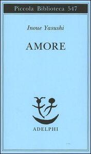 Libro Amore Yasushi Inoue