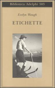 Etichette - Evelyn Waugh - copertina