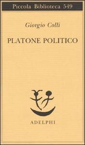 Platone politico - Giorgio Colli - copertina